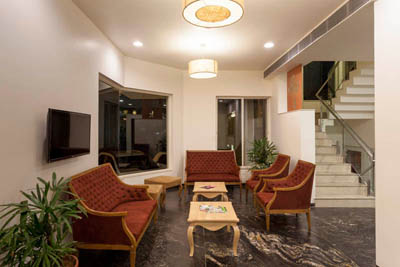 Lobby Area of Hotel K Tree in Kolhapur