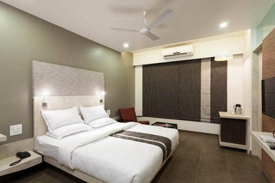 Deluxe Rooms at Hotel K Tree in Kolhapur