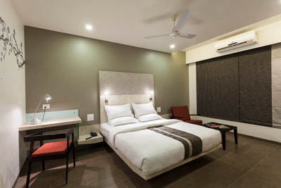 Deluxe AC Rooms at Hotel K Tree in Kolhapur